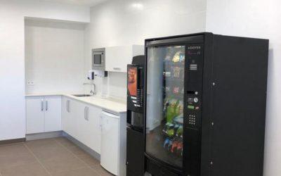 Instalación de un comedor para una empresa