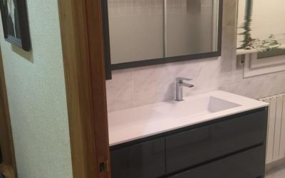 Mueble de baño de 6 cajones