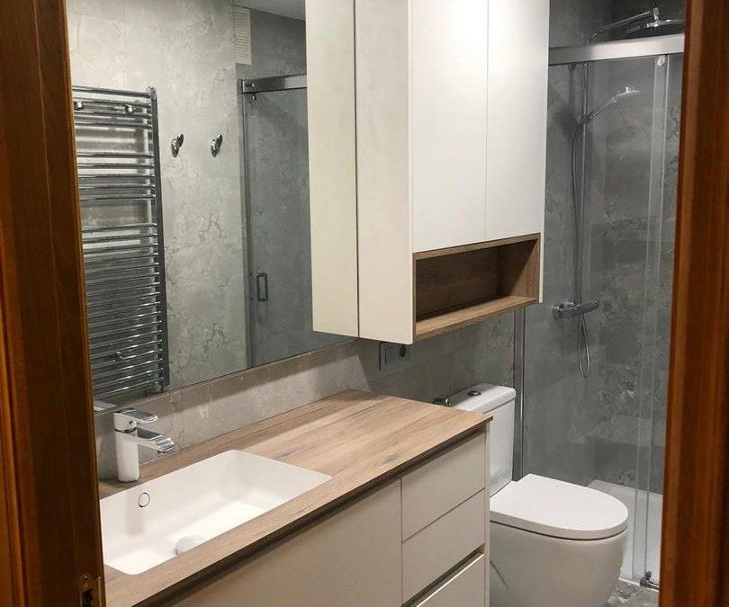 Mueble de baño totalmente a medida