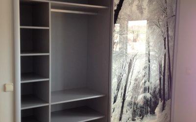 Armario puertas correderas aluminio