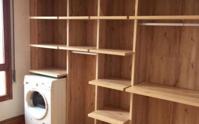 Lavandería totalmente a medida